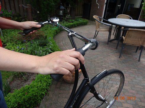 pyörän tanko